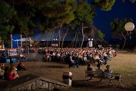 Open Air cinema Bacvice